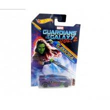 Фото - Машинка Hot Wheels Коллекционная моделька 2017 года Guardians of the Galaxy Gamora 4 номер