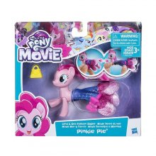 Фото - Фигурка Hasbro Пони Пинки Пай, из серии Мерцание или Пони в волшебных платьях My Little Pony the Movie Pinkie Pie Land & Sea Fashion Styles