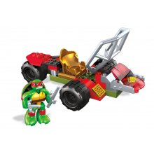 Черепашки-ниндзя Construx Teenage Mutant Ninja Turtles Half-Shell Heroes Raph Shell Cycle