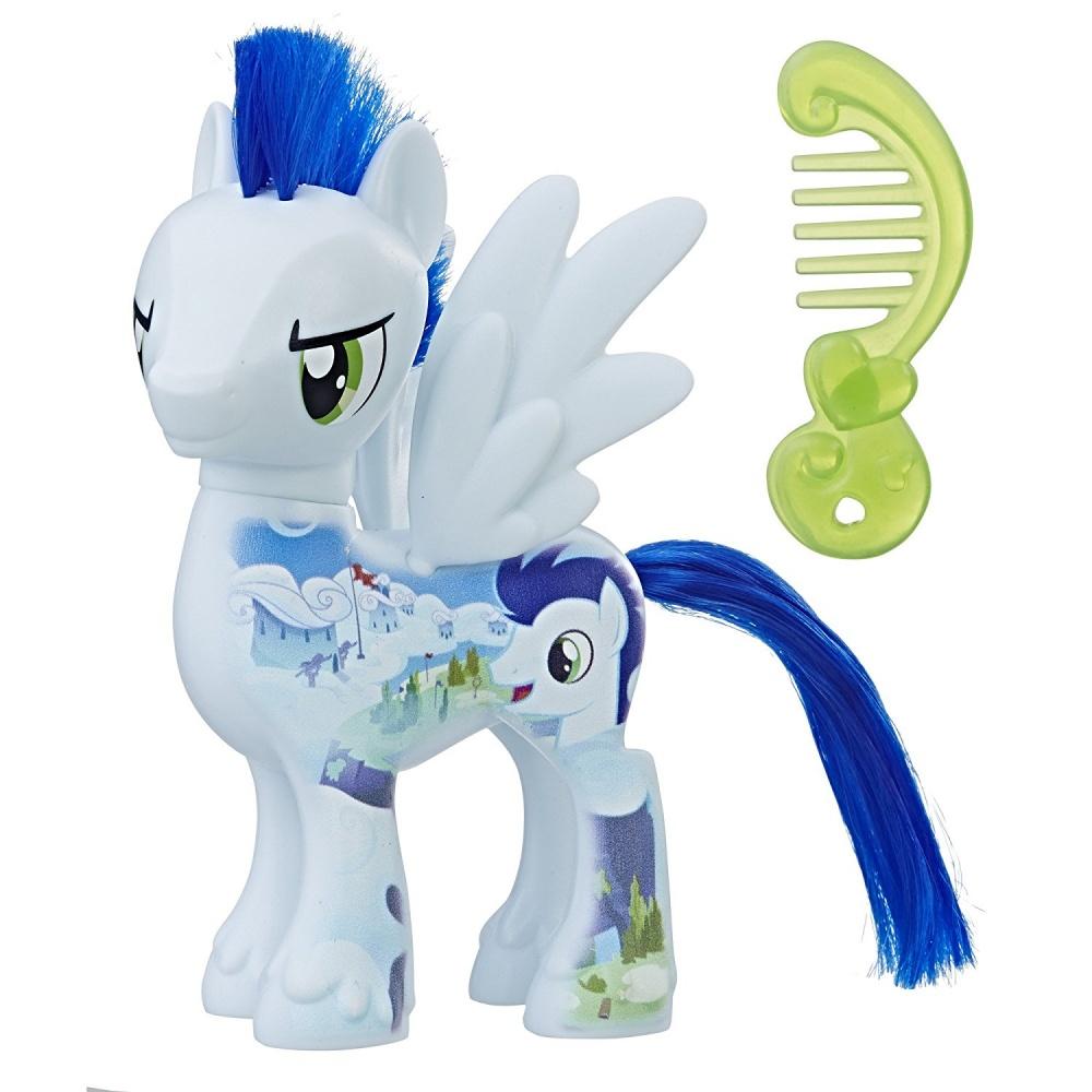 Фото - Фигурка Hasbro Пони Соарин My Little Pony The Movie All About Soarin Doll