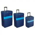 Комплект чемоданов Skyflite Domino Blue (S/M/L) 3шт