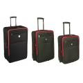 Комплект чемоданов Skyflite Transit Black (S/M/L) 3шт