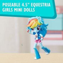 Фото - Кукла Hasbro Мини-кукла Радуга и пони My Little Pony Elements of Friendship Rainbow Dash Pony and Doll Set
