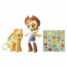 Мини-кукла Эпплджек и пони My Little Pony Elements of Friendship Applejack Pony and Doll Set