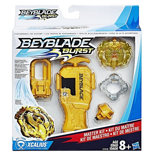 Фото - Игровой набор Hasbro Бейблейд Xcalius D11 TA05 с пусковым механизмом - Beyblade Burst Master Kit Playset