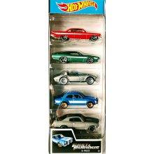 Набор машинок 5 моделек Hot Wheels 2019 Fast and Furios 5-Pack