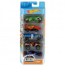 Набор 5 моделек Hot Wheels City Dino 5 Pack