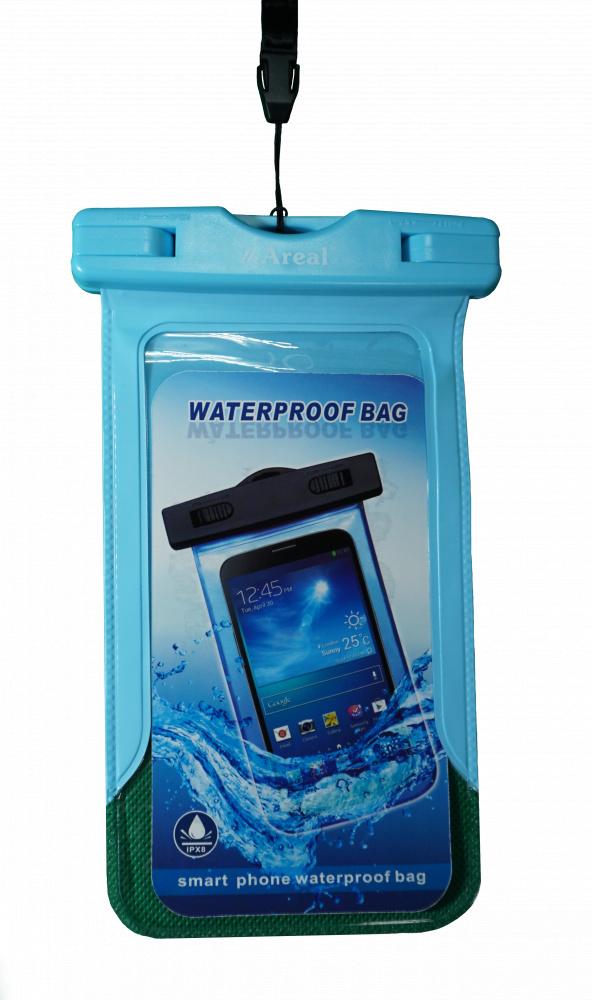 Фото - Чехол водонепроницаемый для мобильного телефона Areal AV-001 (Blue)