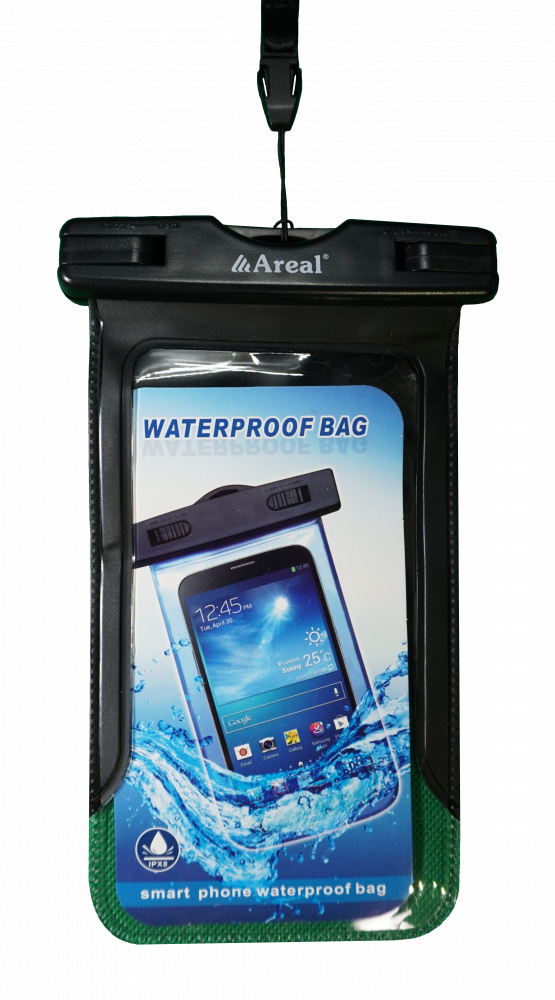Фото - Чехол водонепроницаемый для мобильного телефона Areal AV-001 (Black)